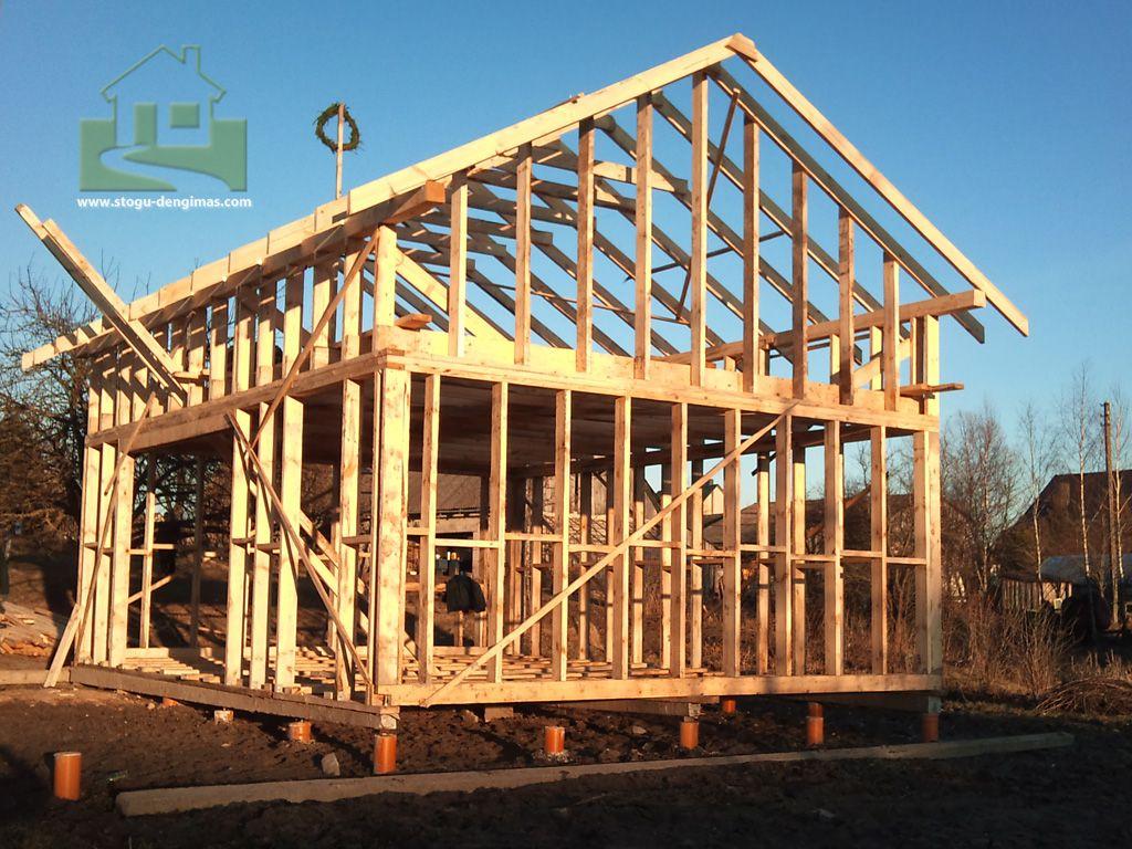 Построить каркасный дом с мансардой своими руками